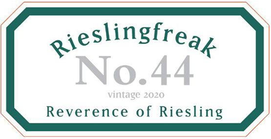 Rieslingfreak No 44 Eden Valley 2020 front