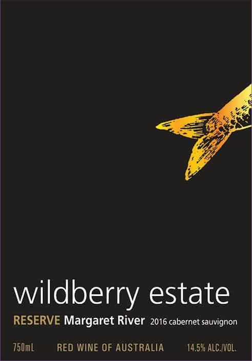 Wildberry Reserve Cabernet Sauvignon 2016 Front