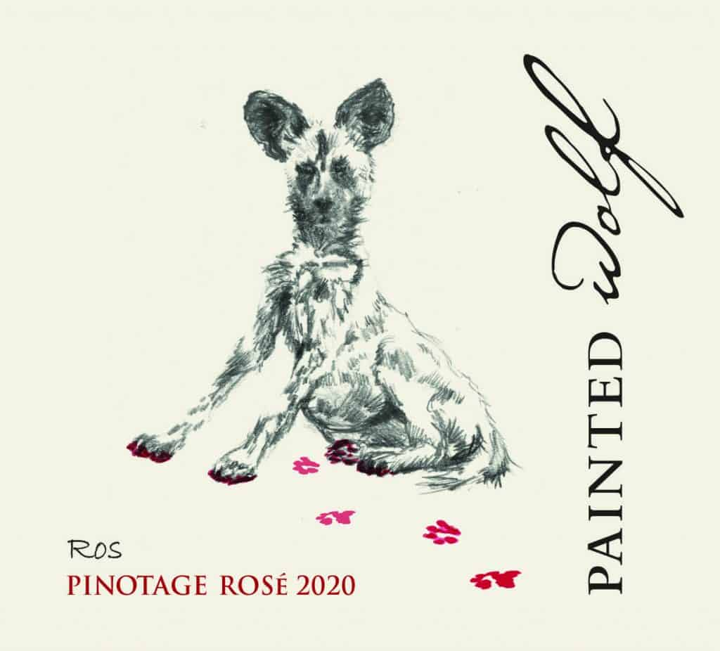 Painted Wolf Ros Pinotage 2020 Rosé