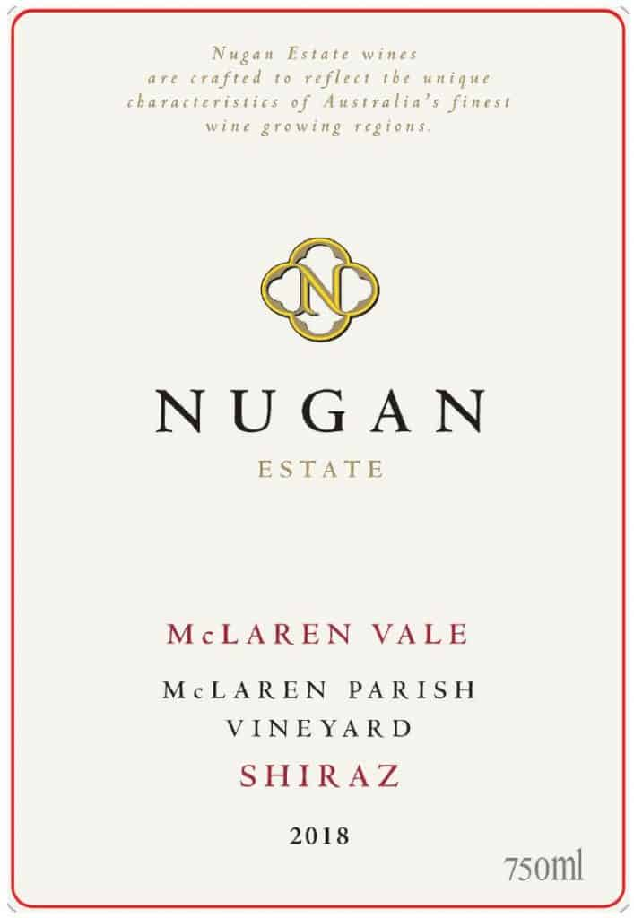 Nugan Parish Shiraz 2018