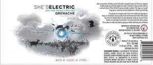 Thistledown Shes Electric Grenache 2019 Front