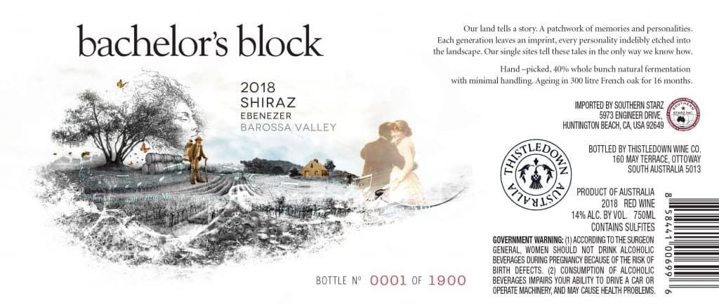 Bachelors Block 2018 Shiraz
