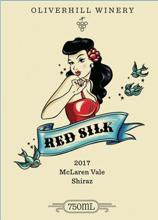 Oliverhill Red Silk 2017 front