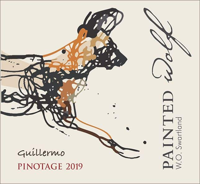 Painted Wolf Guillermo Pinotage 2019