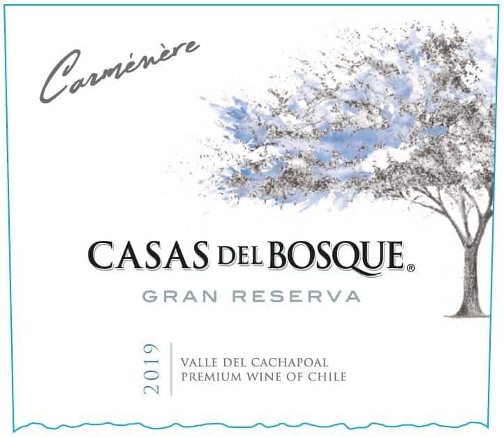 Casas del Bosque Gran Res Carmenere 2019