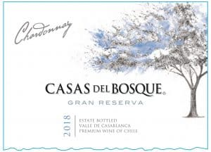 Casas del Bosque Gran Reserva Chardonnay 2018