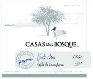 Casas del Bosque Pinot Noir Reserva 2019
